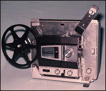 Super-8 projector