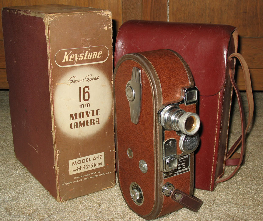 VINTAGE COLLECTIBLE 8mm & 16mm MOVIE CAMERAS